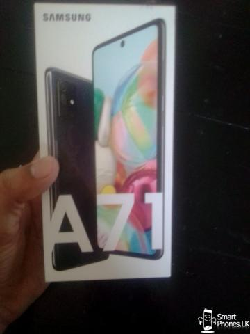 Samsung Galaxy A71 for Sale  (not used, only box is opened) - 1/3